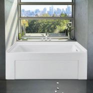 60 In Alcove Bathtub - Acrylic Pure White (DK-PW-BT990003R)