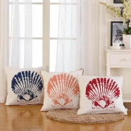 Cotton Cushion Cover - Shell (DK-LG001-1)