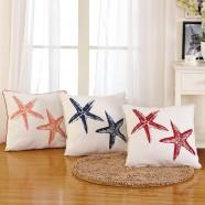 Cotton Cushion Cover - Starfish (DK-LG002-1)