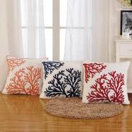 Cotton Cushion Cover - Coral (DK-LG003-1)