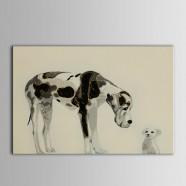 Printed Animal  Oil Painting (DK-PH-DH24)