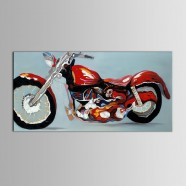 Printed Motorcycle Oil Painting (DK-PH-DH49)