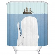 "Bathroom Waterproof Shower Curtain, 70"" W x 72"" H (DK-YT001)"