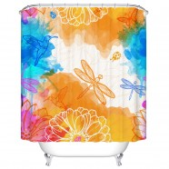 "Bathroom Waterproof Shower Curtain, 70"" W x 72"" H (DK-YT022)"