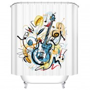 "Bathroom Waterproof Shower Curtain, 70"" W x 72"" H (DK-YT027)"