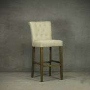 Upholstered Wooden Bar Stool (PJH082)