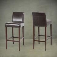 Upholstered Wooden Bar Stool (PJH372)