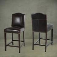 Upholstered Wooden Bar Stool (PJL321)