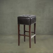 Upholstered Wooden Bar Stool (PJO050)