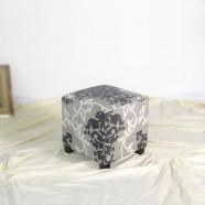 Upholstered Fabric Ottoman (PJO063)