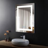 32 x 24 In Vertical LED Bathroom Mirror with Anti-fog Function (DK-OD-CK010-W)