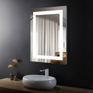 32 x 24 In Vertical LED Bathroom Mirror with Anti-fog Function (DK-OD-CK010-W)