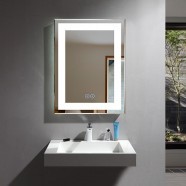 24 x 32 In Vertical LED Bathroom Mirror with Anti-fog Function (DK-OD-CK168-W)