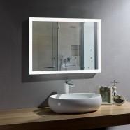 28 x 36 In Horizontal LED Bathroom Mirror with Anti-fog Function (DK-OD-N031-W1)