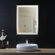 28 x 36 In Vertical LED Bathroom Mirror with Anti-fog Function (DK-OD-C226-W1)