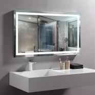 40 x 24 In Horizontal LED Bathroom Mirror with Anti-fog Function (DK-OD-CK010-W2)