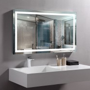 40 x 24 In Horizontal LED Bathroom Mirror with Anti-fog Function (DK-OD-CK010-W2)