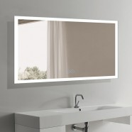 60 x 36 In Horizontal LED Bathroom Mirror with Anti-fog Function (DK-OD-N031-W3)