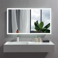 48 x 28 In Horizontal LED Bathroom Mirror with Anti-fog Function (DK-OD-N031-W5)
