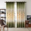 "Green Blackout Grommet Curtain Panel, 50"" W x 96"" L (DK-GT004)"