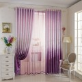 "Purple Blackout Grommet Curtain Panel, 42"" W x 84"" L (DK-GT005)"