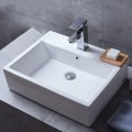 Decoraport Rectangle Ceramic Above Counter Basin (CL-1118)