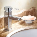 Decoraport Modern Style Basin&Sink Faucet - Brass with Chrome Finish (6001A)