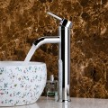 Decoraport Modern Style Basin&Sink Faucet - Brass with Chrome Finish (YDL-5320)