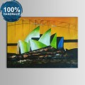 100% Hand Painted Abstract Landscape Oil Painting (DK-JX-YH011)