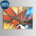 100% Hand Painted Abstract Oil Painting (DK-JX-YH027)