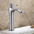 Basin&Sink Faucet - Brass with Chrome Finish (81H36-CHR-011-T)