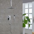 Bathroom Single Handle Tub and Shower Faucet - Brass with Chrome Finish (7566)