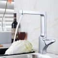 Chrome Finished Brass Kitchen Faucet (10001)