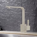 Brushed Nickel Finished Brass Kitchen Faucet (82H35-BN)