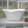 59 In Freestanding Bathtub - Acrylic Pure White (DK-PW-82572)