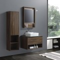 32 In. Wall Mount Vanity Set with Linen Cabinet and LED Mirror (AG8001W-SET)