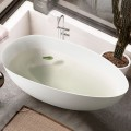 BATHPRO 67 In High-end Freestanding Bathtub - Acrylic Matte White (DK-MF-94778)