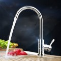SUPOR Modern Style Stainless Steel Lead Free Kitchen Faucet (210107-04-LS)