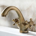 Basin&Sink Faucet - Brass with Antique Copper Finish (6911)