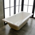 66 In Drop-in Bathtub - Acrylic White (DK-KBATH75)