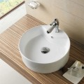Decoraport Round Ceramic Above Counter Basin (CL-1033)