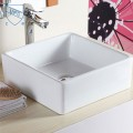 Decoraport  Square Ceramic Above Counter Basin (CL-1044)