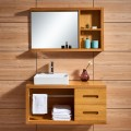 47 In. Wall-Mount Bathroom Vanity Set with Sink and Mirror (DK-667120)
