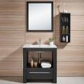 24 In. Freestanding Bathroom Vanity Set, Single Sink and Mirror (DK-610600)