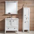 31 In. Freestanding Bathroom Vanity Set, Single Sink and Mirror (DK-672800W)