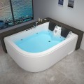 Decoraport 71 x 47 In Whirlpool Tub with Heater, Ozone (DK-RL-6153)