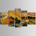 Landscape Group Canvas Printed Painting (DK-PH-TH39207)