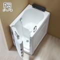 40 x 28 In Walk-in Soaking Bathtub - Acrylic White with Left Drain (DK-Q376-L)