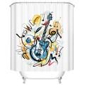 "Bathroom Waterproof Shower Curtain, 70"" W x 72"" H (DK-YT027)"