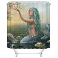 "Bathroom Waterproof Shower Curtain, 70"" W x 72"" H (DK-YT035)"